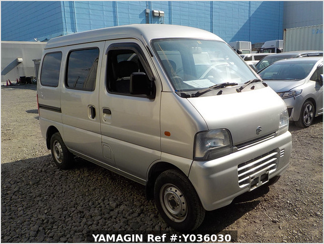 It is a picture of the silver suzuki every passenger van in 2005,Sub Photo 0 Stock No.Y036030