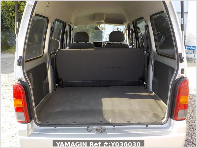 It is a picture of the silver suzuki every passenger van in 2005,Sub Photo 4 Stock No.Y036030