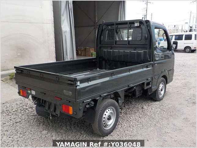 It is a picture of the khaki suzuki carry truck in 2020,Sub Photo 2 Stock No.Y036048