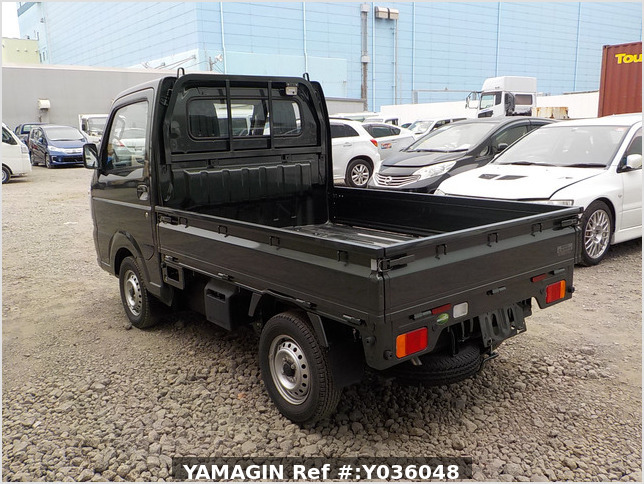 It is a picture of the khaki suzuki carry truck in 2020,Sub Photo 3 Stock No.Y036048