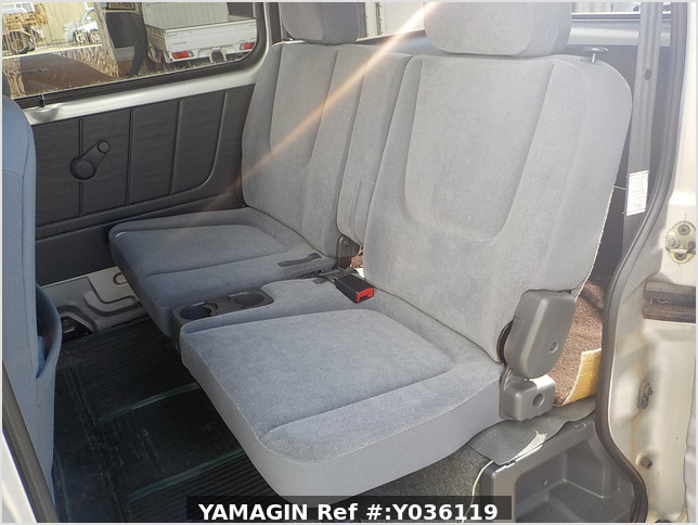 It is a picture of the silver suzuki every passenger van in 2003,Sub Photo 15 Stock No.Y036119