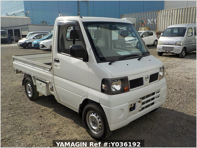 It is a picture of the white nissan clipper truck in 2006,Sub Photo 0 Stock No.Y036192