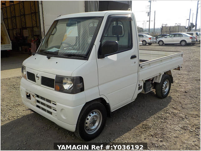 It is a picture of the white nissan clipper truck in 2006,Sub Photo 1 Stock No.Y036192