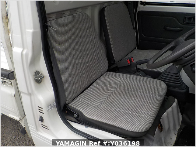 It is a picture of the white daihatsu hijet dump in 1997,Sub Photo 14 Stock No.Y036198