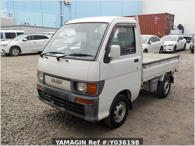 It is a picture of the white daihatsu hijet dump in 1997,Sub Photo 2 Stock No.Y036198