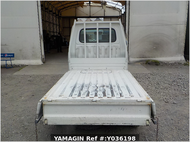 It is a picture of the white daihatsu hijet dump in 1997,Sub Photo 5 Stock No.Y036198