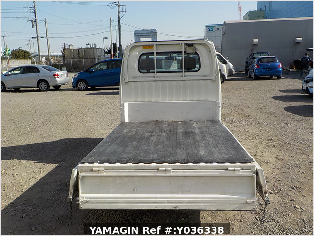 It is a picture of the white mitsubishi minicab dump in 2007,Sub Photo 16 Stock No.Y036338