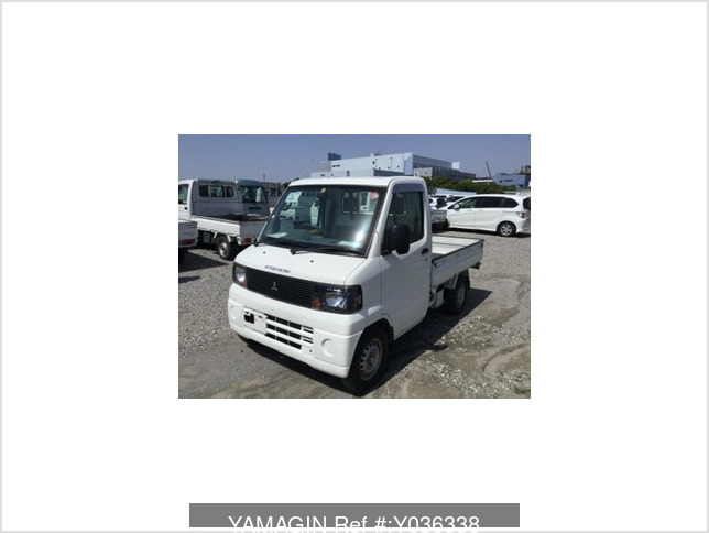 It is a picture of the white mitsubishi minicab dump in 2007,Sub Photo 0 Stock No.Y036338