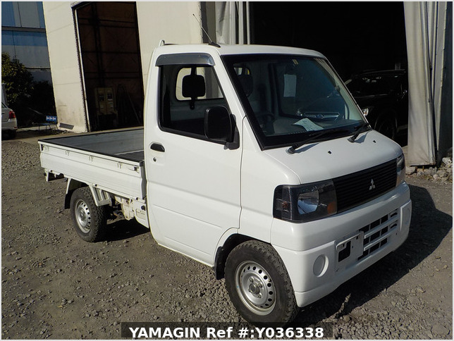 It is a picture of the white mitsubishi minicab dump in 2007,Sub Photo 12 Stock No.Y036338