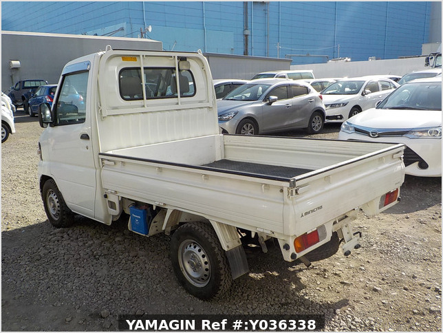 It is a picture of the white mitsubishi minicab dump in 2007,Sub Photo 15 Stock No.Y036338