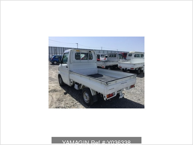 It is a picture of the white mitsubishi minicab dump in 2007,Sub Photo 1 Stock No.Y036338