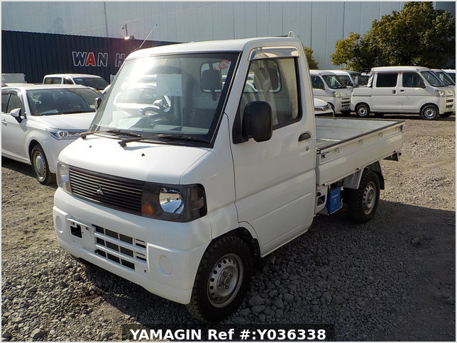 It is a picture of the white mitsubishi minicab dump in 2007,Sub Photo 13 Stock No.Y036338