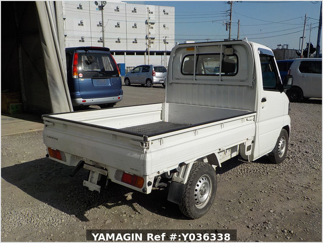 It is a picture of the white mitsubishi minicab dump in 2007,Sub Photo 14 Stock No.Y036338