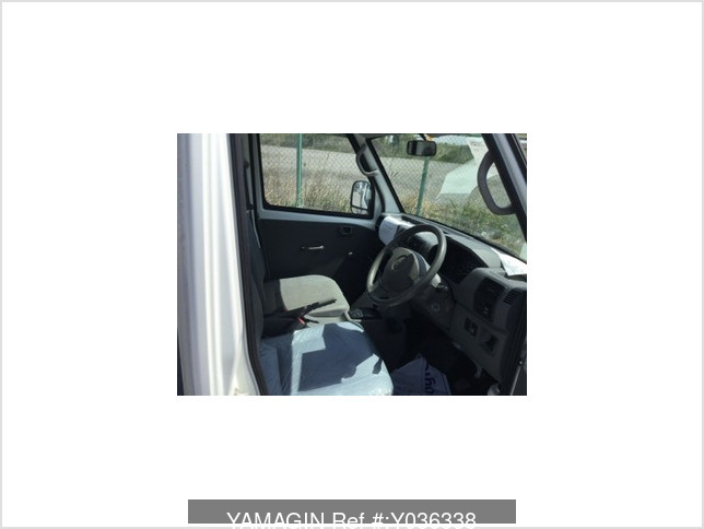 It is a picture of the white mitsubishi minicab dump in 2007,Sub Photo 5 Stock No.Y036338