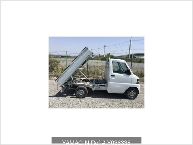 It is a picture of the white mitsubishi minicab dump in 2007,Sub Photo 4 Stock No.Y036338