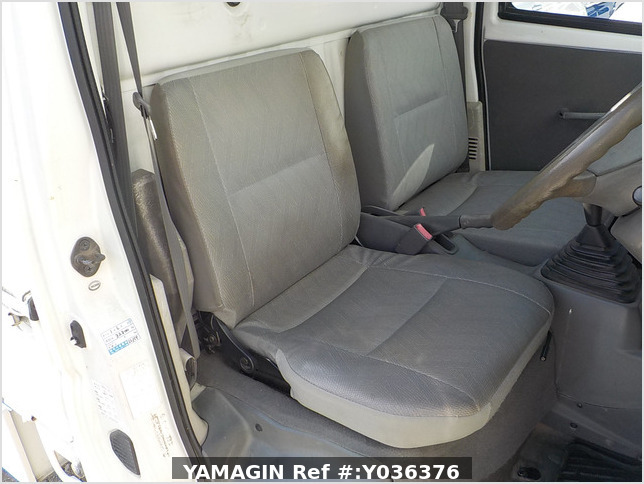 It is a picture of the white mitsubishi minicab truck in 2001,Sub Photo 7 Stock No.Y036376
