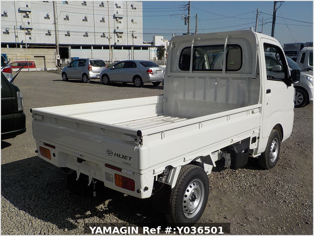 It is a picture of the white daihatsu hijet  truck in 2020,Sub Photo 2 Stock No.Y036501
