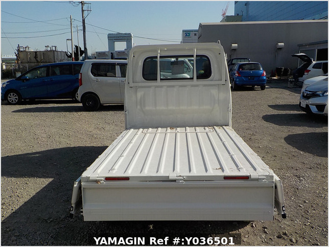 It is a picture of the white daihatsu hijet  truck in 2020,Sub Photo 4 Stock No.Y036501