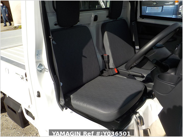 It is a picture of the white daihatsu hijet  truck in 2020,Sub Photo 10 Stock No.Y036501