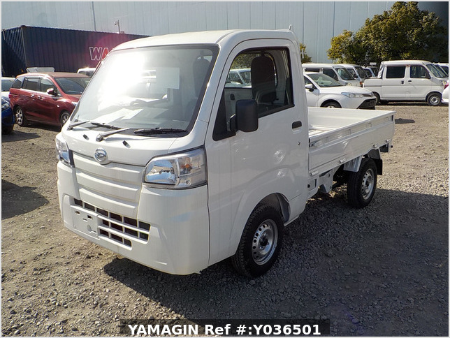 It is a picture of the white daihatsu hijet  truck in 2020,Sub Photo 1 Stock No.Y036501