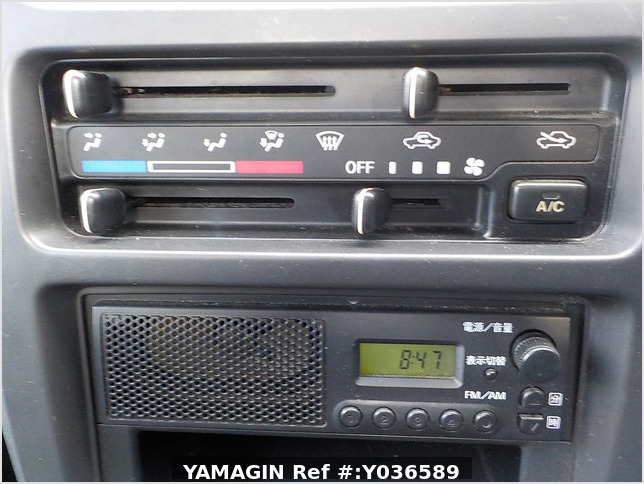 It is a picture of the white suzuki carry truck in 2007,Sub Photo 7 Stock No.Y036589