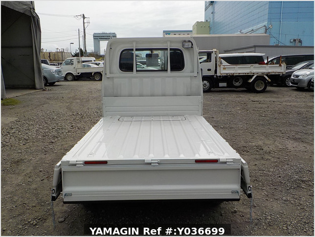 It is a picture of the white daihatsu hijet dump in 2021,Sub Photo 4 Stock No.Y036699