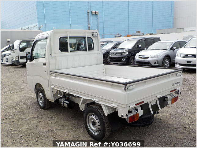 It is a picture of the white daihatsu hijet dump in 2021,Sub Photo 5 Stock No.Y036699