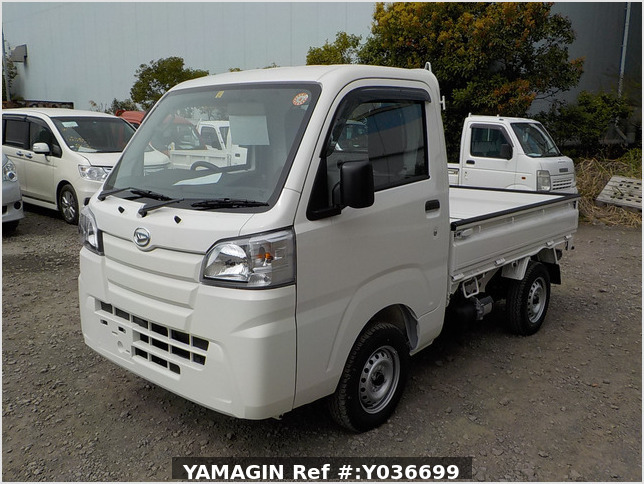 It is a picture of the white daihatsu hijet dump in 2021,Sub Photo 2 Stock No.Y036699