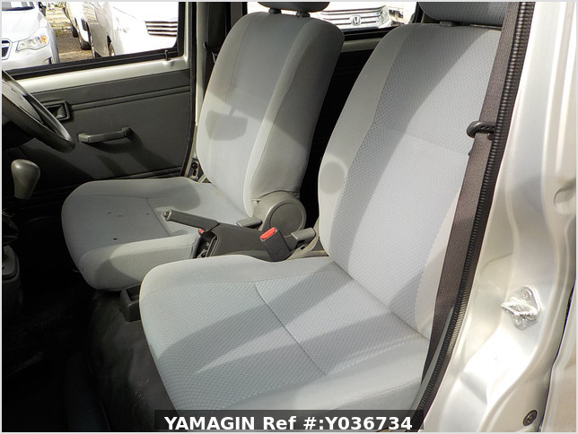 It is a picture of the silver daihatsu hijet  deck van in 2006,Sub Photo 12 Stock No.Y036734