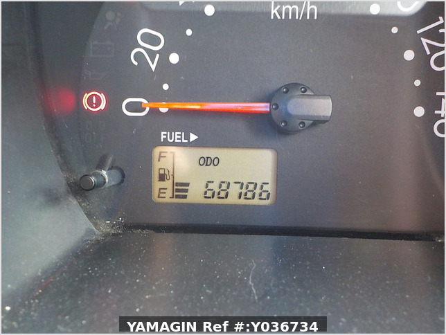 It is a picture of the silver daihatsu hijet  deck van in 2006,Sub Photo 6 Stock No.Y036734