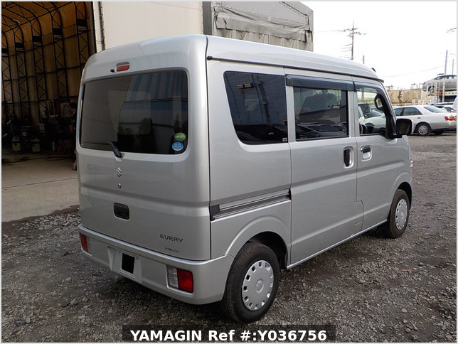It is a picture of the silver suzuki every passenger van in 2018,Sub Photo 2 Stock No.Y036756