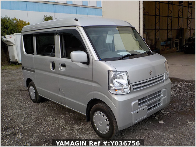 It is a picture of the silver suzuki every passenger van in 2018,Sub Photo 0 Stock No.Y036756