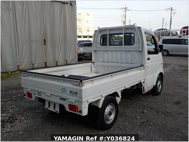 It is a picture of the white suzuki carry truck in 2012,Sub Photo 2 Stock No.Y036824