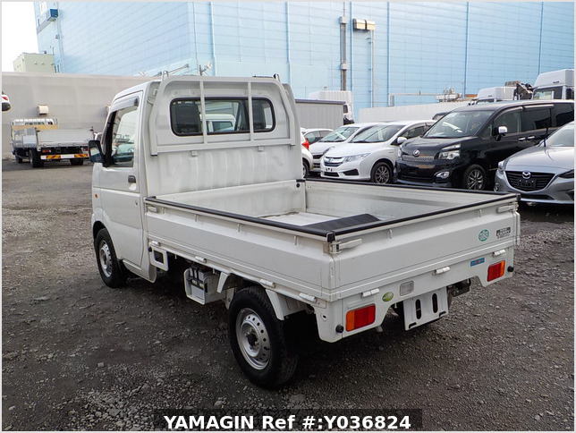 It is a picture of the white suzuki carry truck in 2012,Sub Photo 3 Stock No.Y036824
