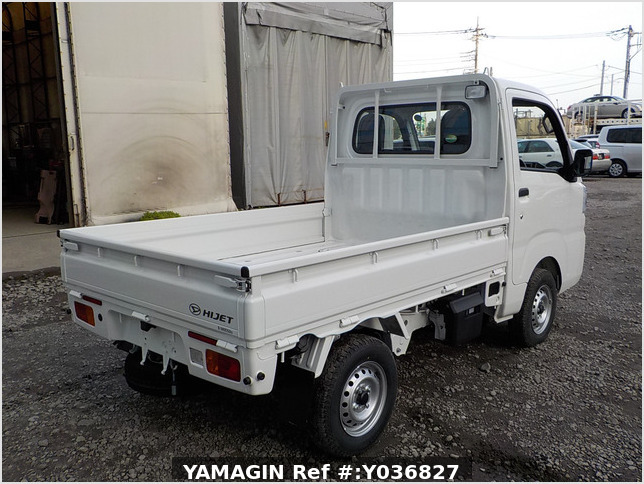 It is a picture of the white daihatsu hijet  truck in 2020,Sub Photo 2 Stock No.Y036827