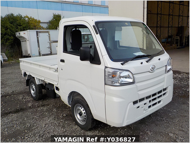 It is a picture of the white daihatsu hijet  truck in 2020,Sub Photo 0 Stock No.Y036827