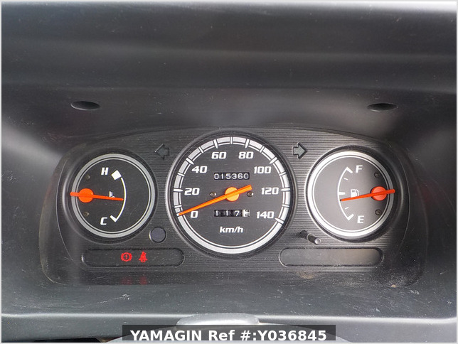 It is a picture of the silver daihatsu hijet  passenger van in 2002,Sub Photo 5 Stock No.Y036845