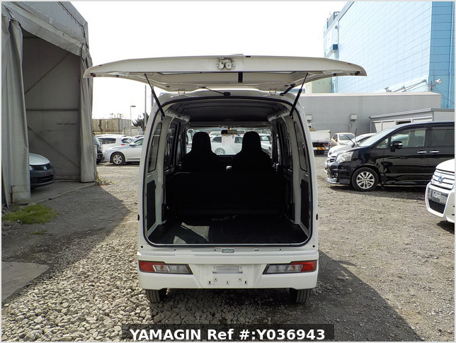 It is a picture of the white daihatsu hijet passenger van in 2020,Sub Photo 5 Stock No.Y036943