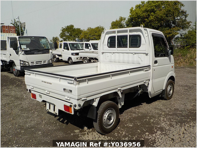 It is a picture of the white suzuki carry dump in 2013,Sub Photo 3 Stock No.Y036956