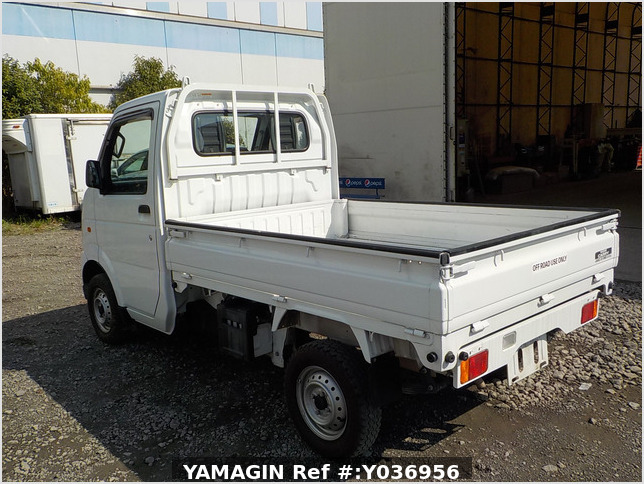 It is a picture of the white suzuki carry dump in 2013,Sub Photo 4 Stock No.Y036956