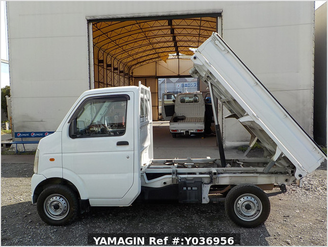 It is a picture of the white suzuki carry dump in 2013,Sub Photo 6 Stock No.Y036956