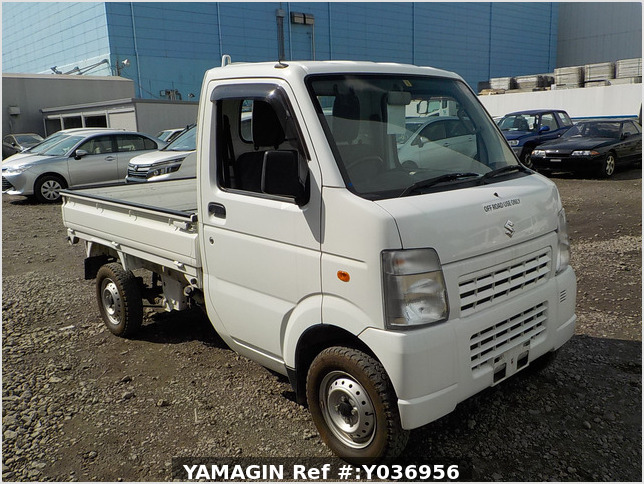 It is a picture of the white suzuki carry dump in 2013,Sub Photo 1 Stock No.Y036956