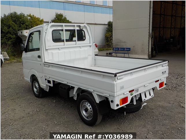 It is a picture of the white suzuki carry truck in 2020,Sub Photo 3 Stock No.Y036989