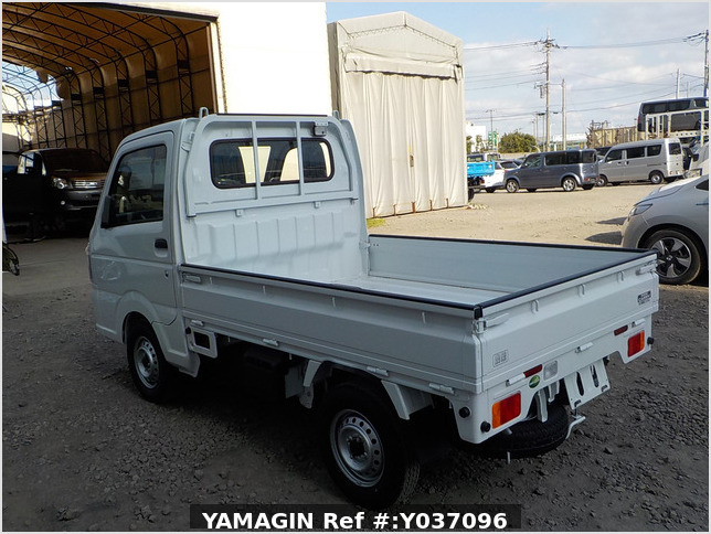 It is a picture of the white suzuki carry truck in 2020,Sub Photo 3 Stock No.Y037096