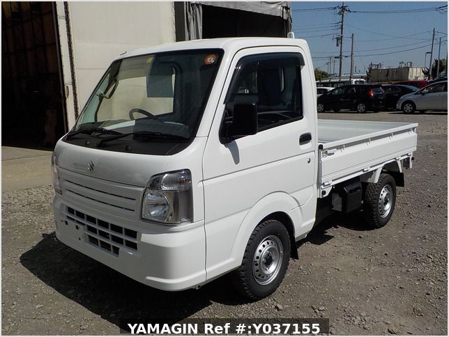 It is a picture of the white suzuki carry dump in 2021,Sub Photo 2 Stock No.Y037155