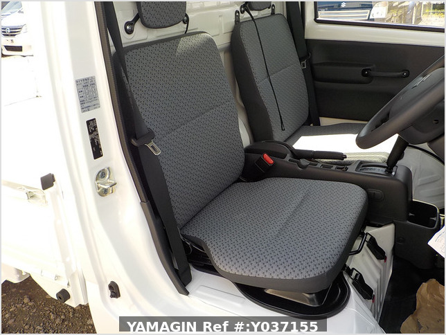 It is a picture of the white suzuki carry dump in 2021,Sub Photo 8 Stock No.Y037155