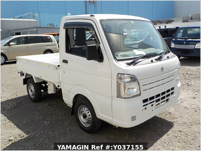 It is a picture of the white suzuki carry dump in 2021,Sub Photo 1 Stock No.Y037155
