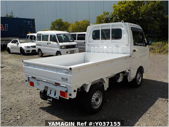 It is a picture of the white suzuki carry dump in 2021,Sub Photo 3 Stock No.Y037155
