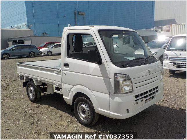 It is a picture of the white suzuki carry truck in 2020,Sub Photo 0 Stock No.Y037353