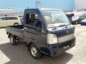 It is a picture of the blue suzuki carry truck in 2019,First Photo Stock No.Y037357